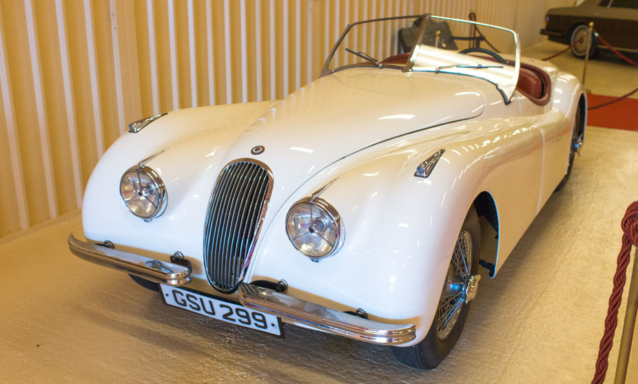 Jaguar XK-120 Roadster - 1956