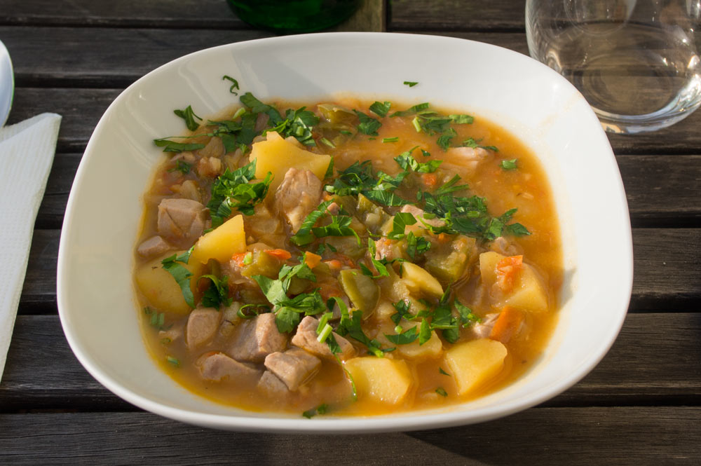 Marmitako, Basque tuna stew