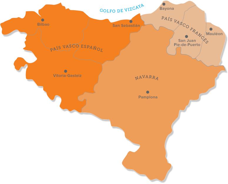 Mapa De Pais Vasco Por Provincias.Pais Vasco Turismo Que Ver En El Pais Vasco