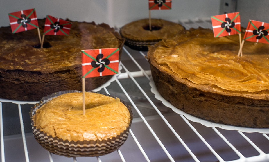 Gateau Basque at Bayonne's Market, France