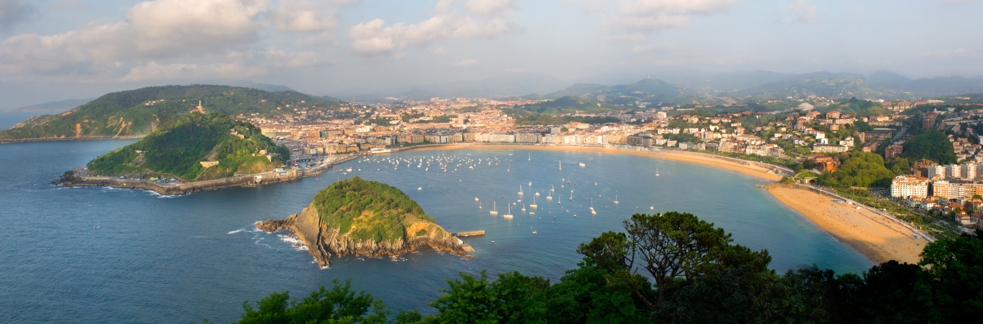 San sebastian spanien baskenland reisef hrer for Para desarrollar un parque ajardinado