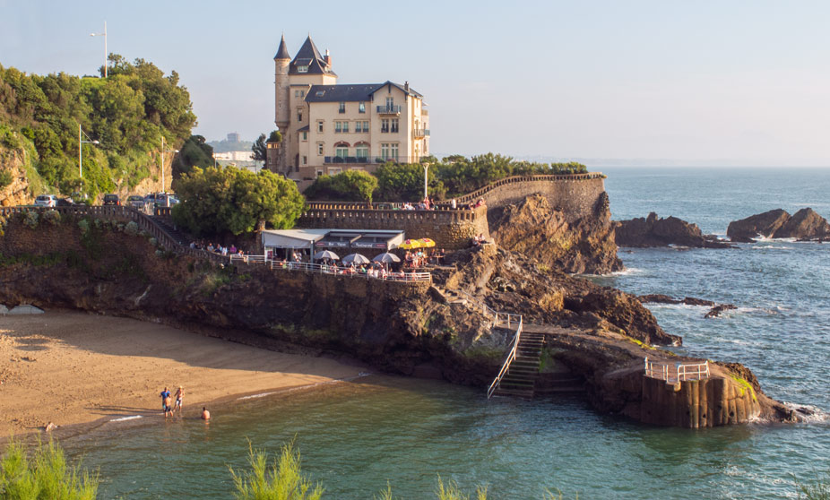 Port Vieux Beach - Biarritz, France