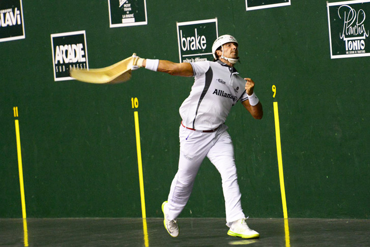 an overview of the jai alai ball in basque language Start studying spanish iv-aventuras vascas: episodio 1 learn vocabulary  ball (jai alai) (basque language) castellano el español.