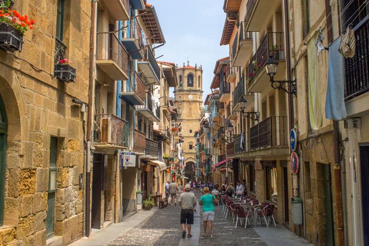 Getaria, Spanien   Baskenland Reiseführer