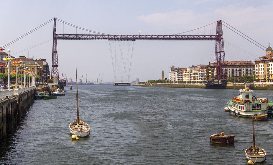 Znalezione obrazy dla zapytania Puente Colgante, Portugalete