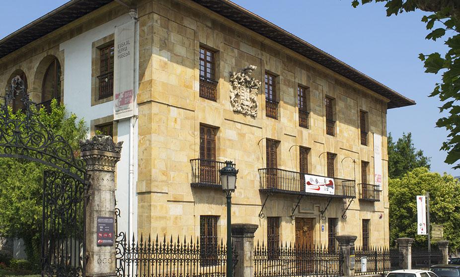 Exterior of the Euskal Herria Museum