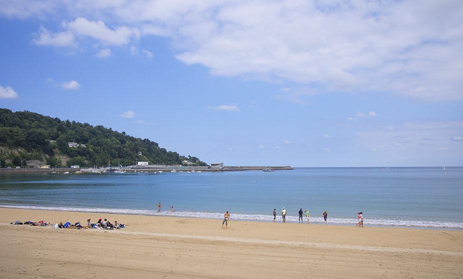 Resultado de imagen de playa de hondarribia