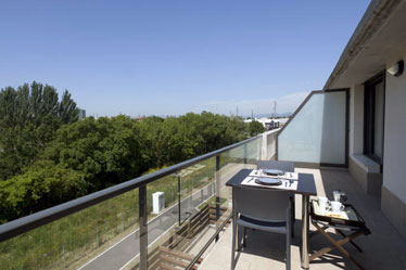 Vitoria hoteles eusko guide for Aparthotel los jardines