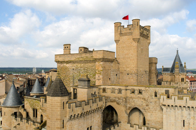 Olite Spain  City new picture : Olite & the Royal Palace | Basque Country Tourism Guide