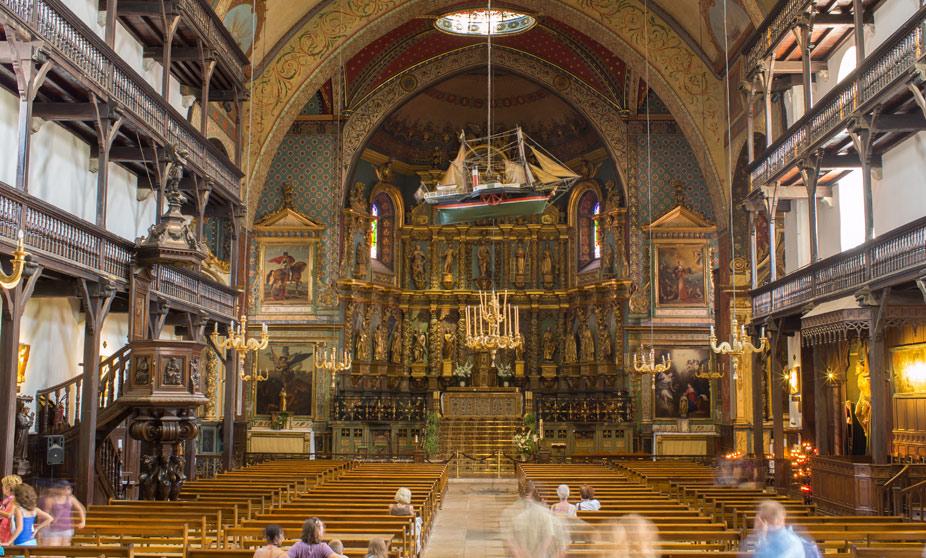 Iglesia de San Juan Bautista - San Juan de Luz, Francia