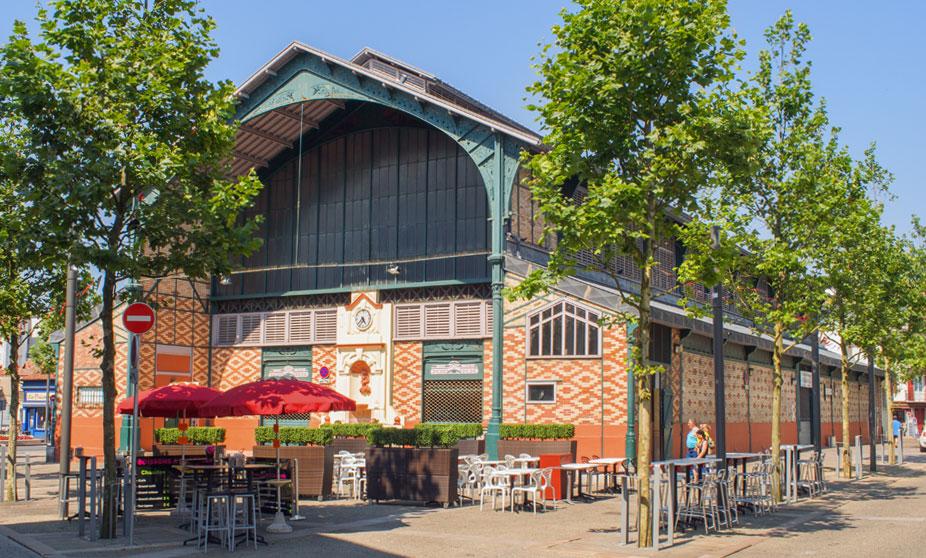 Mercado de San Juan de Luz - Francia