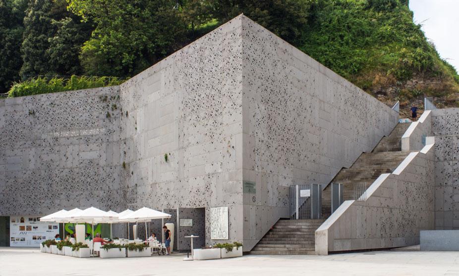 Exterior of the San Telmo Museum