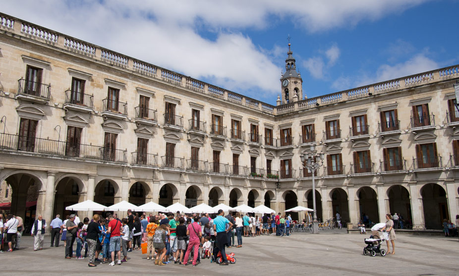 VitoriaGasteiz Spain Tourism Basque Country
