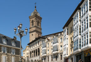 San Vicente Church, Vitoria, Basque Country, Spain