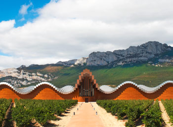 Ysios Winery, Laguardia, Basque Country, Spain